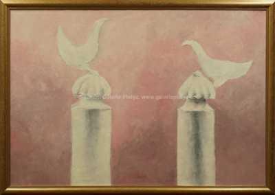 Vladimír Komárek - Dvě holubice