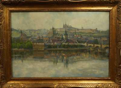 Ferdinand Engelmüller - Pražské panorama