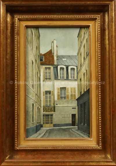 André Renoux - Rue Cardinal Paris