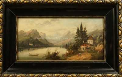 Antonín Josef Levý - Alpský motiv