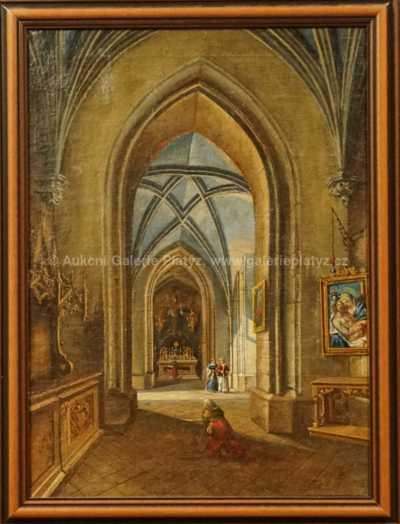 Hanuš Schwaiger - Interiér kostela II.