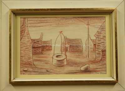 Jan  Zrzavý - Studna v Bretani
