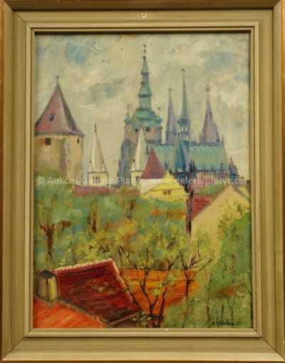 Karel Holan - Pražský hrad