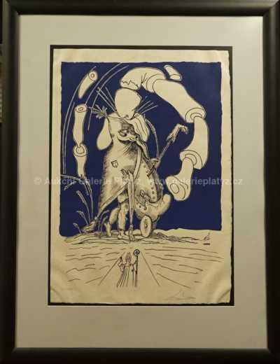Salvador Dalí - Ilustrace
