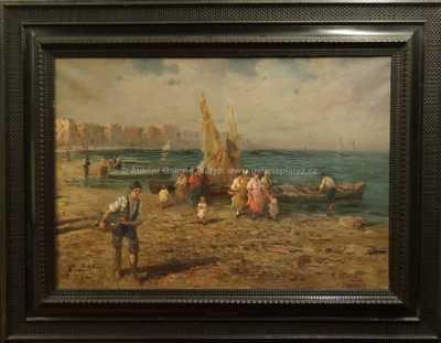 Federico Morello - Rybáři v Neapoli