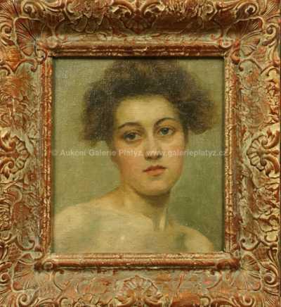 Neznačeno - Portrét dívky