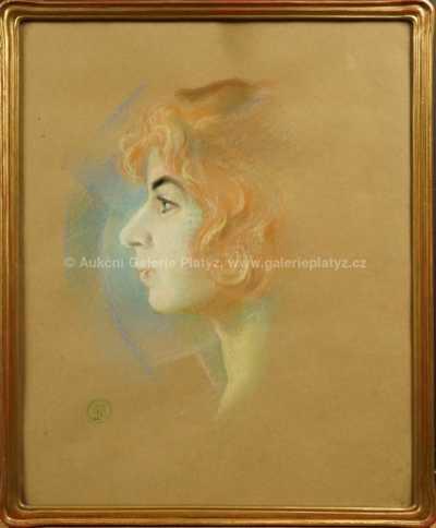 Rudolf Adámek - Portrét dívky