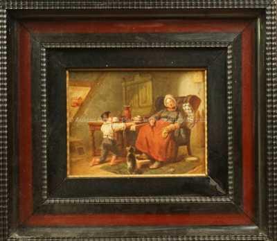 August von Rentzell - V místnosti