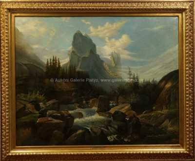 Ferdinand Lepie - Alpská bystřina
