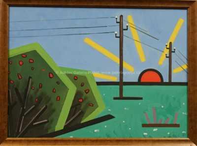 Eduard Stavinoha - Krajina s vycházejícím slunce