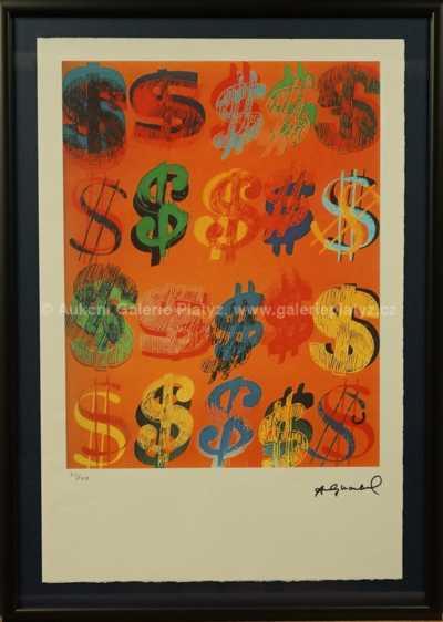 Andy Warhol - Dollar Sing