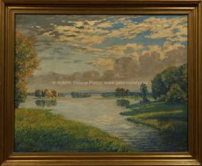 František Xaver  Böhm - Opatovický rybník