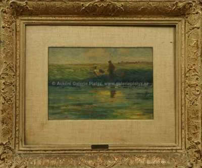 Alois Kalvoda - Na břehu