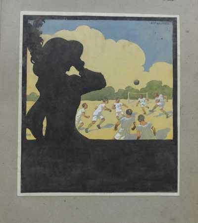 Antonín Brunner - Dáma na fotbalu