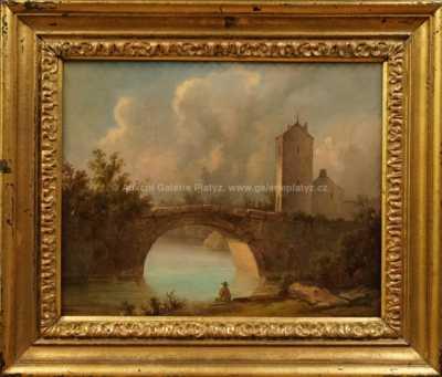 Josef Navrátil - Rybář pod mostem