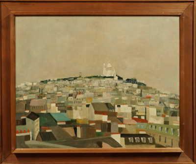 Zdeněk Mlčoch - Montmartre