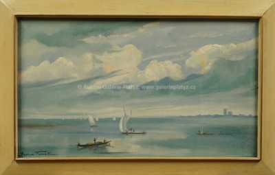 Maurice Fievet - Na moři