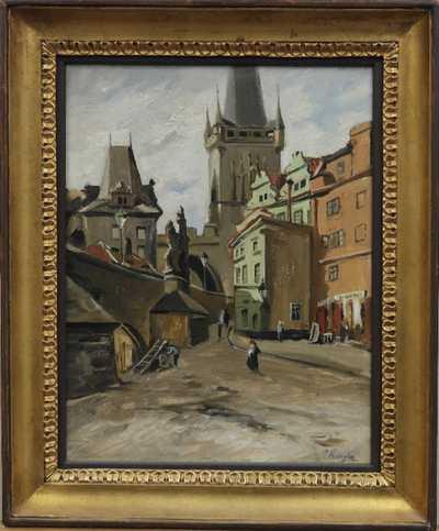 Josef Krejsa - Pod Karlovým mostem