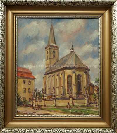 František Strážnický - Za kostelem