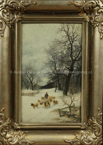 Joseph Kaufmann - Zimní procházka