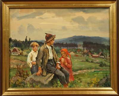Josef Fiala - Děti