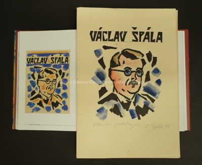 Václav Špála - Tisk k 50. narozeninám