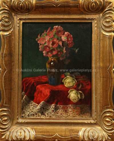 Johan Josef Rainer - Květinové zátiší