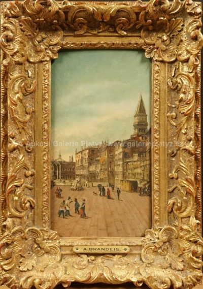 Antonie Brandeisová - Náměstí v Benátkách