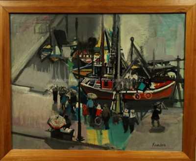 Rudolf Kundera - V přístavu