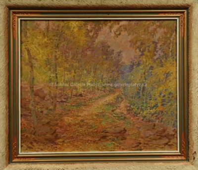 František Myslivec - Cesta lesem