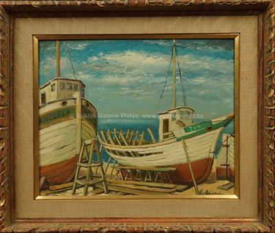 Alois Kohout - V docích u moře