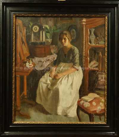 Josef Multrus - Dívka v pokoji