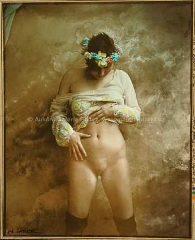 Jan Saudek - Just Another Virgine