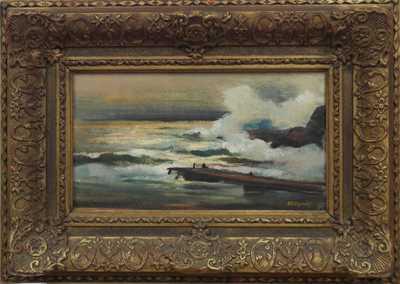 Otakar Nejedlý - Příboj na dalmáckém pobřeží