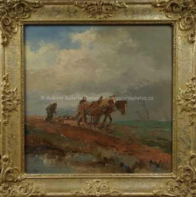 Josef  Svoboda - Na poli