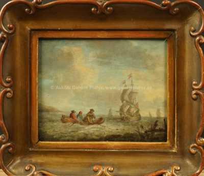 A. B. Piepenhagen - Na moři