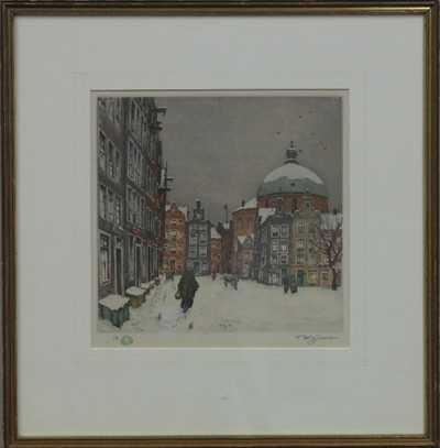 František Tavík Šimon - Sníh v Amsterdamu