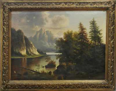 Autor neurčen - Romantická krajina 19. st.