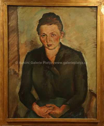 Antonín Pelc - Portrét sestry