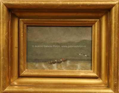 Neznačeno - Bárka na moři