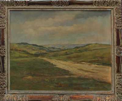 Karel Hodr - Pohled na Zděchov