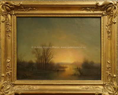 Autor neurčen - Západ slunce