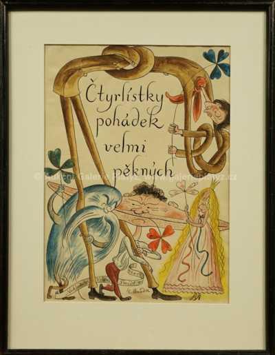 Cyril Bouda - Čtyřlístky pohádek