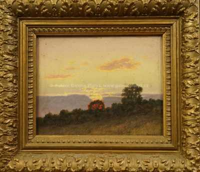 Adolf Pergl - Západ slunce