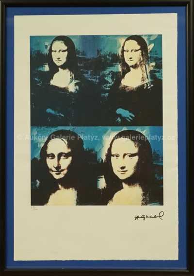 Andy Warhol - Mona Lisa Four Times