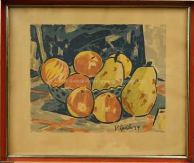 Václav Špála - Ovocné zátiší