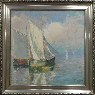 Josef  Svoboda - Rybářské plachetnice