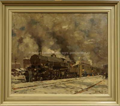 Vilém  Kreibich - Zimní nádraží