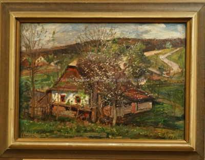 Josef Štolovský - U rozkvetlého stromu