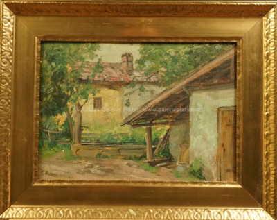 Zdena Braunerová - Na dvorku